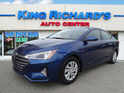 2019 Hyundai Elantra for sale at KING RICHARDS AUTO CENTER in East Providence RI