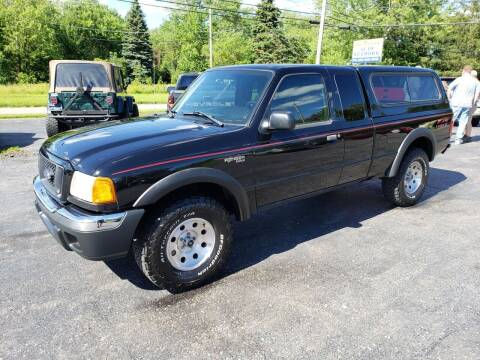 2004 Ford Ranger for sale at Motorsports Motors LLC in Youngstown OH