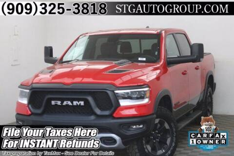 2020 RAM Ram Pickup 1500 for sale at STG Auto Group in Montclair CA