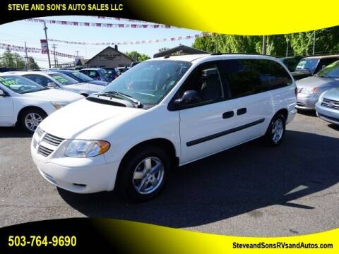 2005 Dodge Grand Caravan for sale at Steve & Sons Auto Sales in Happy Valley OR