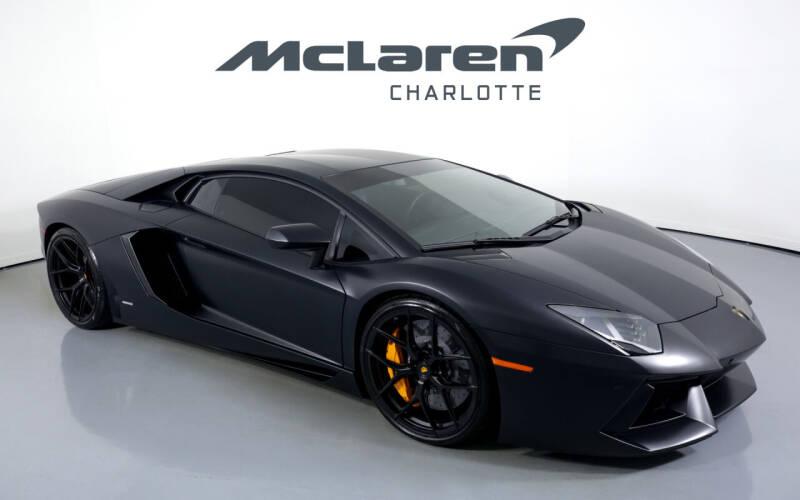 2012 Lamborghini Aventador for sale in Charlotte, NC