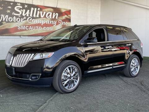 2012 Lincoln MKX for sale at SULLIVAN MOTOR COMPANY INC. in Mesa AZ