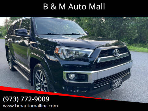 2014 Toyota 4Runner for sale at B & M Auto Mall in Clifton NJ