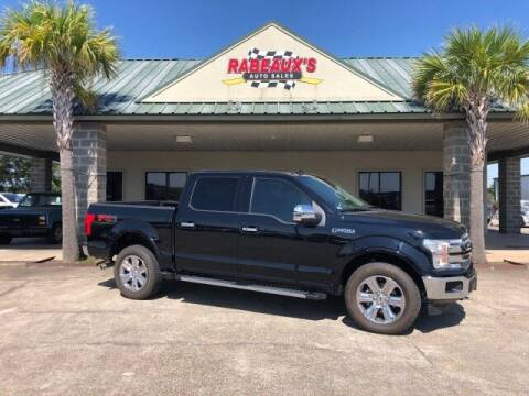 2018 Ford F-150 for sale at Rabeaux's Auto Sales in Lafayette LA