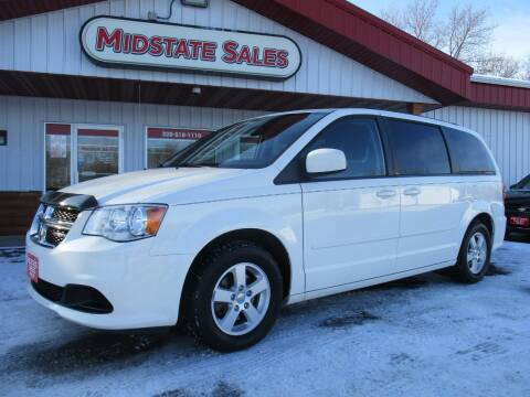 2012 Dodge Grand Caravan for sale at Midstate Sales in Foley MN