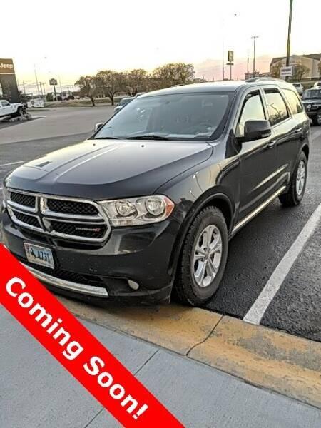 2012 Dodge Durango for sale at MIDWAY CHRYSLER DODGE JEEP RAM in Kearney NE
