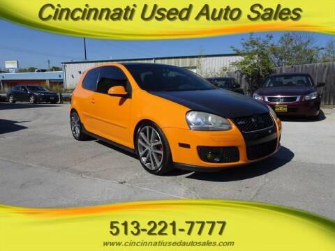 2007 Volkswagen GTI for sale at Cincinnati Used Auto Sales in Cincinnati OH