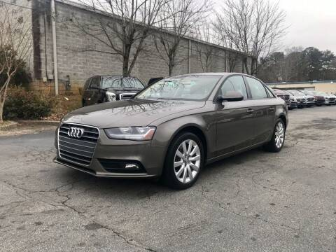 2014 Audi A4 for sale at Five Brothers Auto Sales in Roswell GA