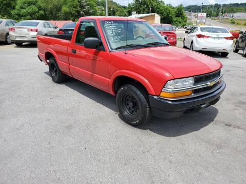 2003 Chevrolet S-10 for sale at DISCOUNT AUTO SALES in Johnson City TN