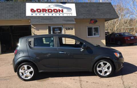 2014 Chevrolet Sonic for sale at Gordon Auto Sales LLC in Sioux City IA