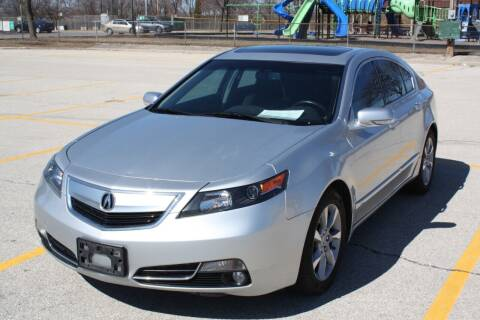 2012 Acura TL for sale at A-Auto Luxury Motorsports in Milwaukee WI