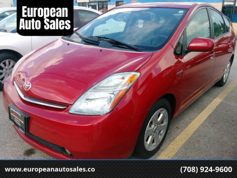 2008 Toyota Prius for sale at European Auto Sales in Bridgeview IL