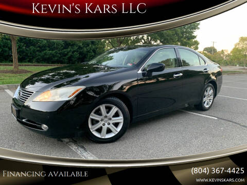 2008 Lexus ES 350 for sale at Kevin's Kars LLC in Richmond VA