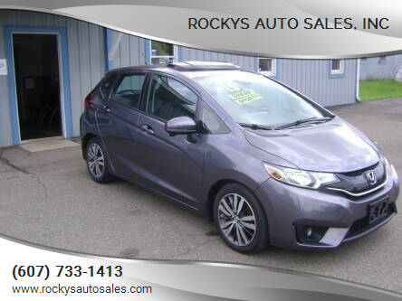 2015 Honda Fit for sale at Rockys Auto Sales, Inc in Elmira NY