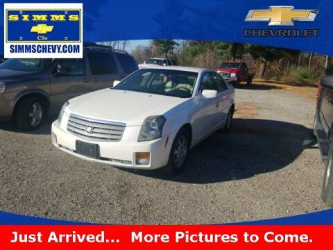 2005 Cadillac CTS for sale at Aaron Adams @ Simms Chevrolet in Clio MI