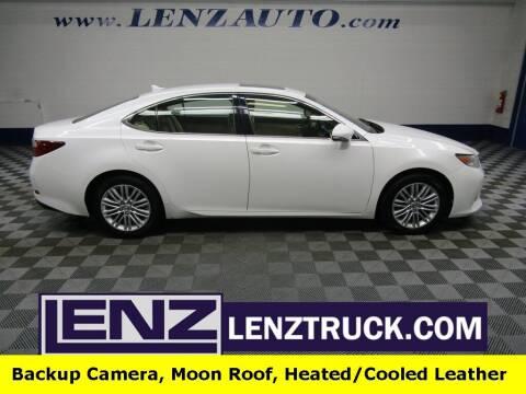 2013 Lexus ES 350 for sale at LENZ TRUCK CENTER in Fond Du Lac WI