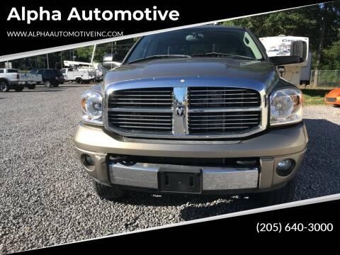 2007 Dodge Ram Pickup 2500 for sale at Alpha Automotive in Odenville AL