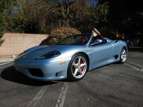 2002 Ferrari 360 Spider for sale at California Cadillac & Collectibles in Los Angeles CA
