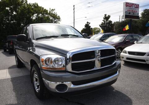 2008 Dodge Ram Pickup 1500 for sale at Grant Car Concepts in Orlando FL