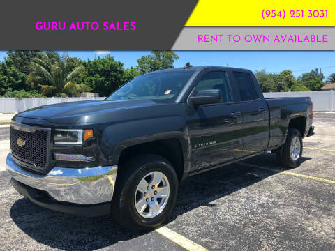 2019 Chevrolet Silverado 1500 LD for sale at Guru Auto Sales in Miramar FL