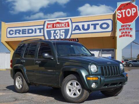 2002 Jeep Liberty for sale at Buy Here Pay Here Lawton.com in Lawton OK