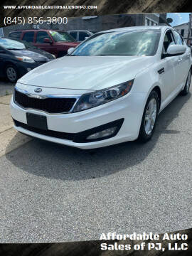 2013 Kia Optima for sale at Affordable Auto Sales of PJ, LLC in Port Jervis NY