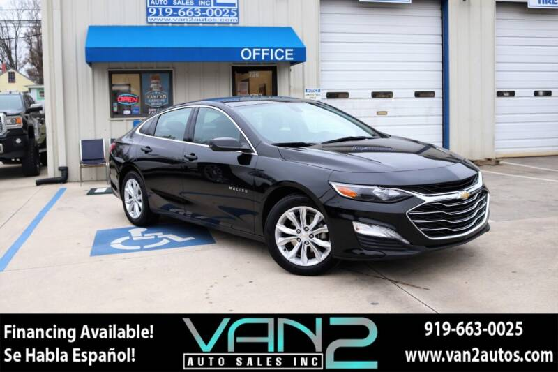 2020 Chevrolet Malibu for sale at Van 2 Auto Sales Inc in Siler City NC