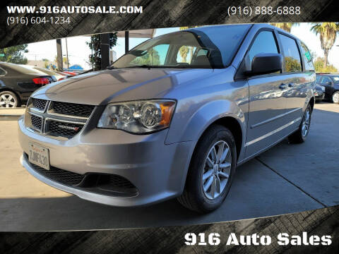2013 Dodge Grand Caravan for sale at 916 Auto Sales in Sacramento CA