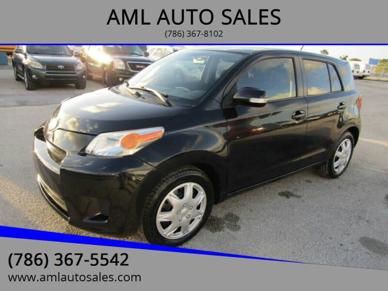 2010 Scion xD for sale at AML AUTO SALES - Sedans/SUV's in Opa-Locka FL