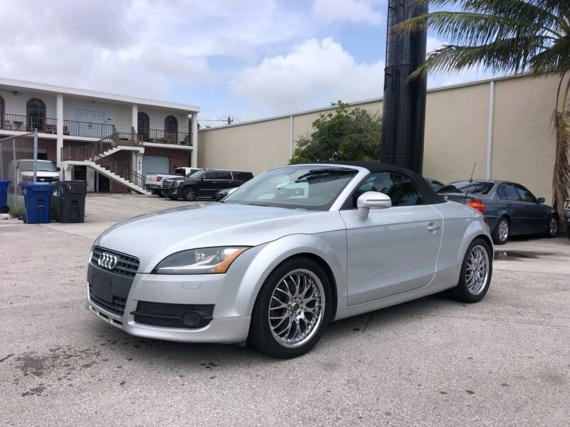 2008 Audi TT for sale at Florida Cool Cars in Fort Lauderdale FL