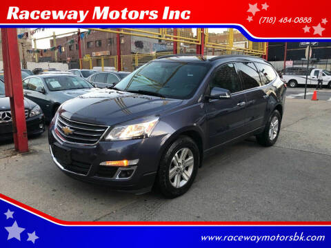 2013 Chevrolet Traverse for sale at Raceway Motors Inc in Brooklyn NY