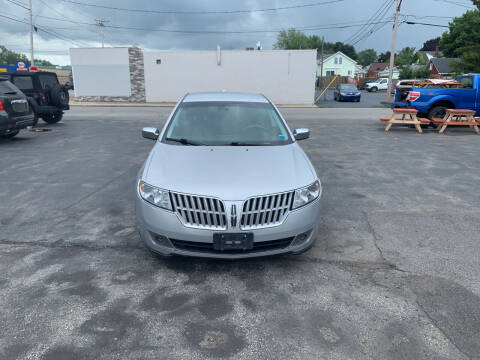 2010 Lincoln MKZ for sale at L.A. Automotive Sales in Lackawanna NY