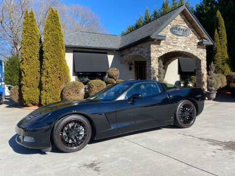 2009 Chevrolet Corvette for sale at Hoyle Auto Sales in Taylorsville NC