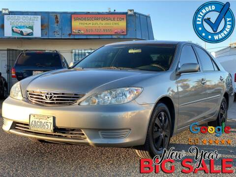 2005 Toyota Camry for sale at Gold Coast Motors in Lemon Grove CA