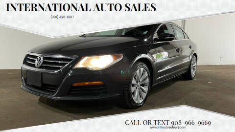2012 Volkswagen CC for sale at International Auto Sales in Hasbrouck Heights NJ