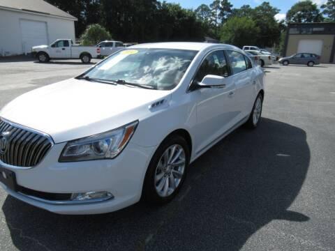 2014 Buick LaCrosse for sale at Maluda Auto Sales in Valdosta GA