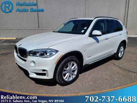 2015 BMW X5 for sale at Reliable Auto Sales in Las Vegas NV