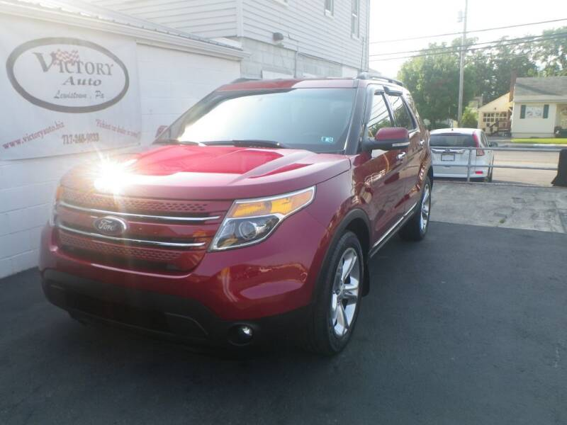 2013 Ford Explorer for sale at VICTORY AUTO in Lewistown PA