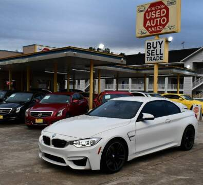 2016 BMW M4 for sale at Houston Used Auto Sales in Houston TX