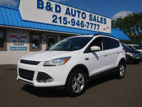 2014 Ford Escape for sale at B & D Auto Sales Inc. in Fairless Hills PA