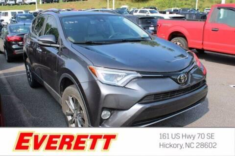 2018 Toyota RAV4 for sale at Everett Chevrolet Buick GMC in Hickory NC