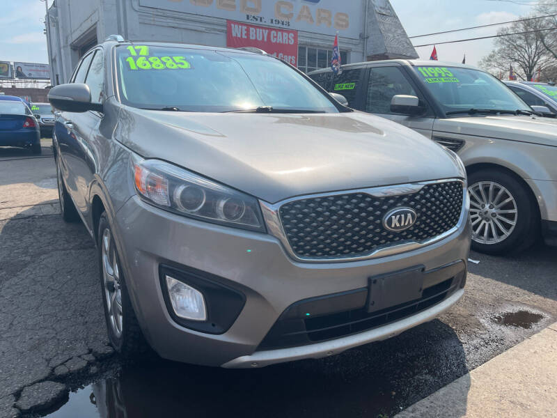 2017 Kia Sorento for sale at GRAND USED CARS  INC in Little Ferry NJ