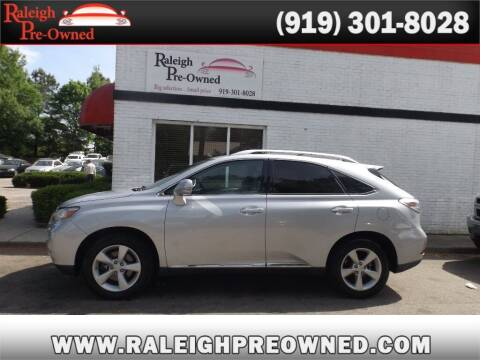 2011 Lexus RX 350 for sale at Raleigh Pre-Owned in Raleigh NC