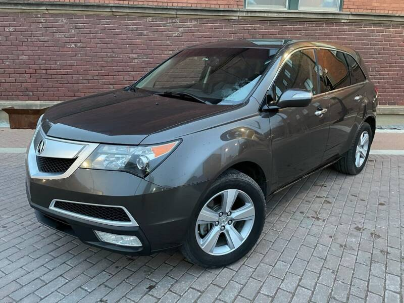 2012 Acura MDX for sale at Euroasian Auto Inc in Wichita KS