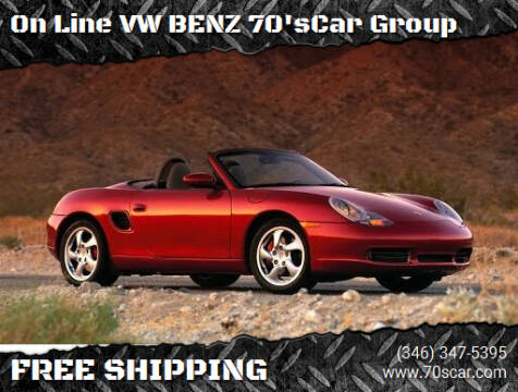 2002 Porsche Boxster for sale at On Line VW BENZ 70'sCar Group in Warehouse CA