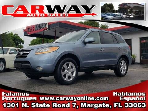 2009 Hyundai Santa Fe for sale at CARWAY Auto Sales in Margate FL