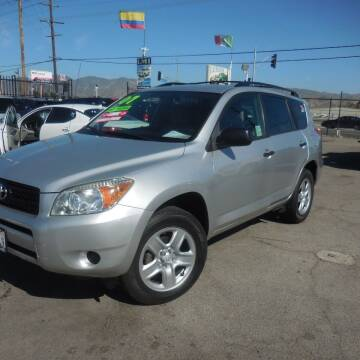 2007 Toyota RAV4 for sale at Luxor Motors Inc in Pacoima CA