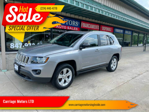 2015 Jeep Compass for sale at Carriage Motors LTD in Ingleside IL