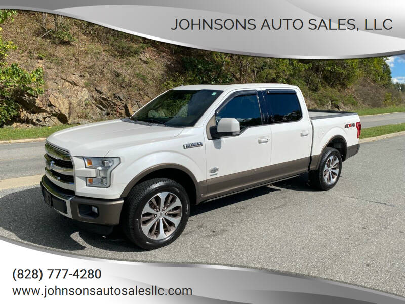 2016 Ford F-150 for sale at Johnsons Auto Sales, LLC in Marshall NC