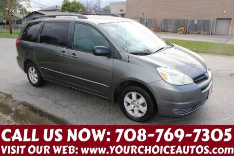 2004 Toyota Sienna for sale at Your Choice Autos in Posen IL